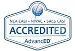 Envision's summer programs are accredited by SACS-CASI.
