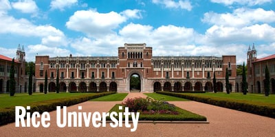 Rice University, Houston, TX