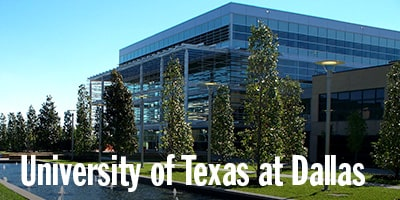 University of Texas at Dallas, UT Dallas, Dallas, TX