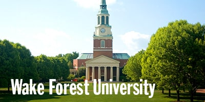 Wake Forest University, Winston-Salem, NC