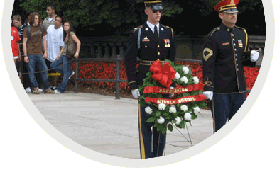 NYLF National Security - Laying of the Wreath